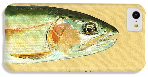 Trout iPhone 5c Case - California Golden Trout by Juan  Bosco