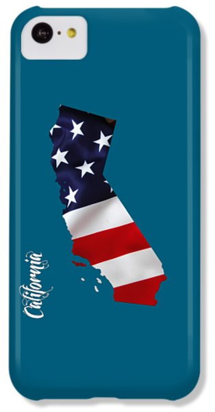 California State Map Collection IPhone 5c Case by Marvin Blaine