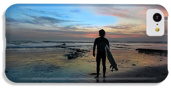 Ocean Sunset iPhone 5c Case - California Surfer by Larry Marshall