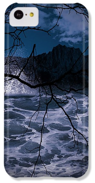 Caliginosity IPhone 5c Case by Lourry Legarde