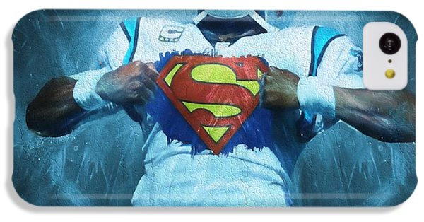 Cam Newton Superman IPhone 5c Case by Dan Sproul