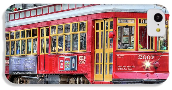 IPhone 5c Case featuring the photograph Canal Street Streetcar by JC Findley