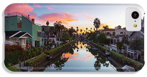 Venice Beach iPhone 5c Case - Canals Of Venice Beach by Sean Davey