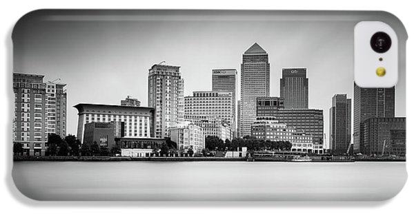 Canary Wharf, London IPhone 5c Case by Ivo Kerssemakers