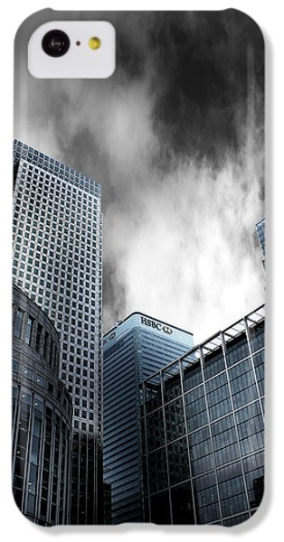 Canary Wharf IPhone 5c Case by Martin Newman