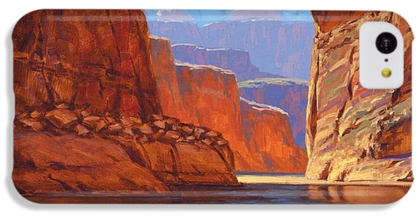 Grand Canyon iPhone 5c Case - Canyon Colors by Cody DeLong