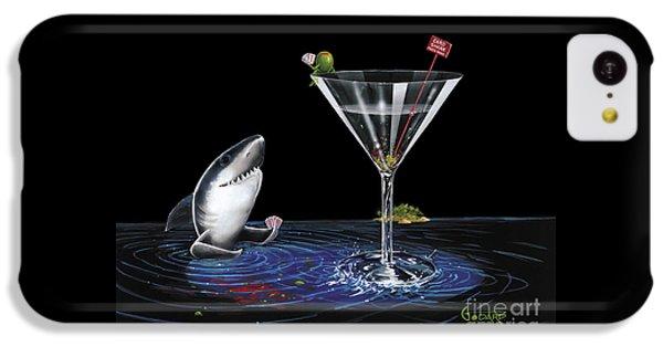 Hammerhead Shark iPhone 5c Case - Card Shark by Michael Godard