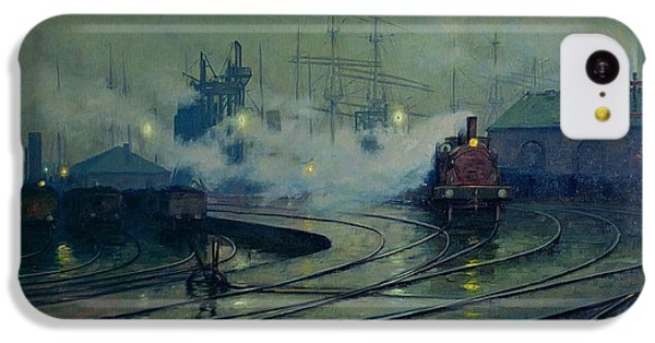 Cardiff Docks IPhone 5c Case by Lionel Walden