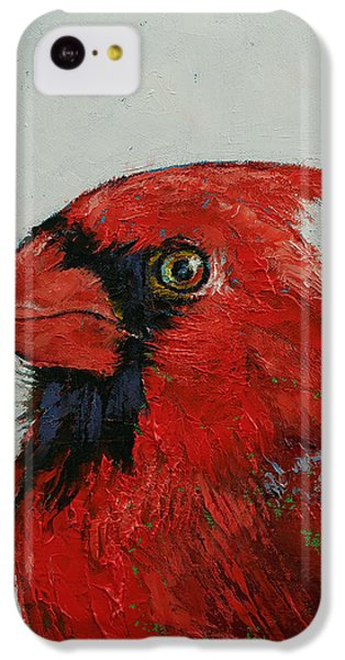 Cardinal IPhone 5c Case by Michael Creese