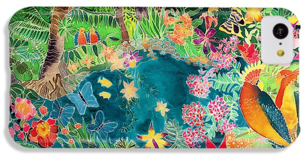Caribbean Jungle IPhone 5c Case