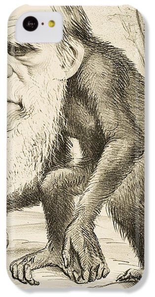 Caricature Of Charles Darwin IPhone 5c Case