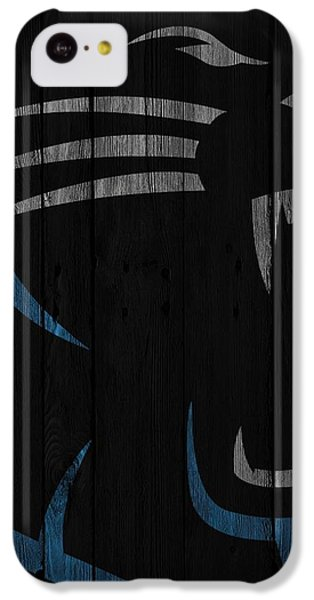 Caroilina Panthers Wood Fence IPhone 5c Case
