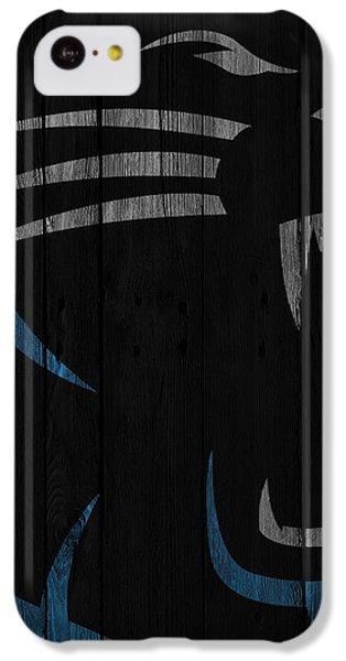 Caroilina Panthers Wood Fence IPhone 5c Case by Joe Hamilton