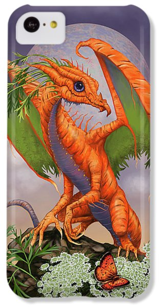 Carrot iPhone 5c Case - Carrot Dragon by Stanley Morrison