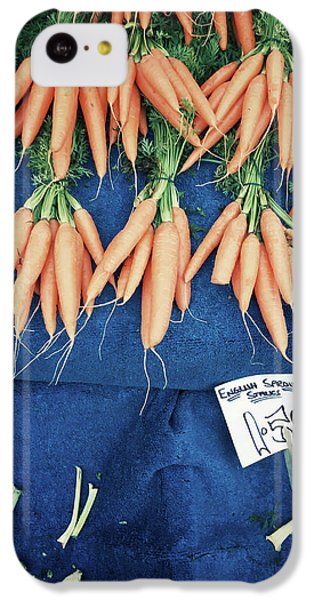 Carrots At The Market IPhone 5c Case by Tom Gowanlock