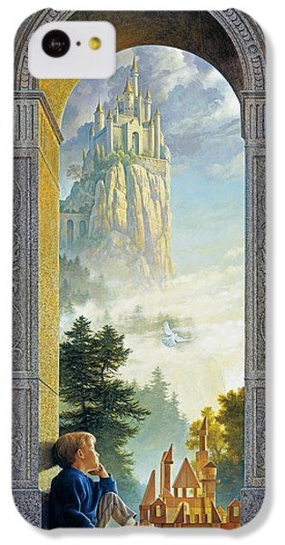Castle iPhone 5c Case - Castles In The Sky by Greg Olsen