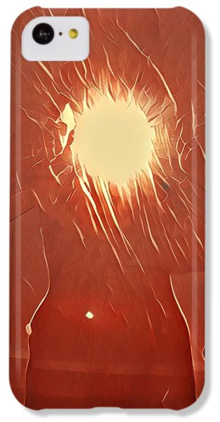 Catching Fire IPhone 5c Case