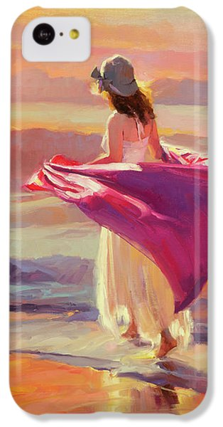 Beach iPhone 5c Case - Catching The Breeze by Steve Henderson