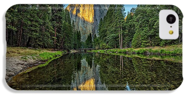 Cathedral Rocks Morning IPhone 5c Case by Peter Tellone