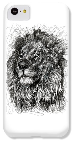 Cecil The Lion IPhone 5c Case by Michael Volpicelli