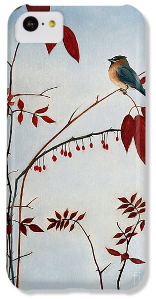 Cedar Waxwing IPhone 5c Case