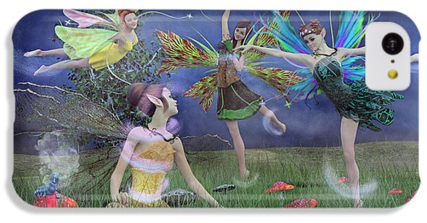 Celebration Of Night Alice And Oz IPhone 5c Case by Betsy Knapp