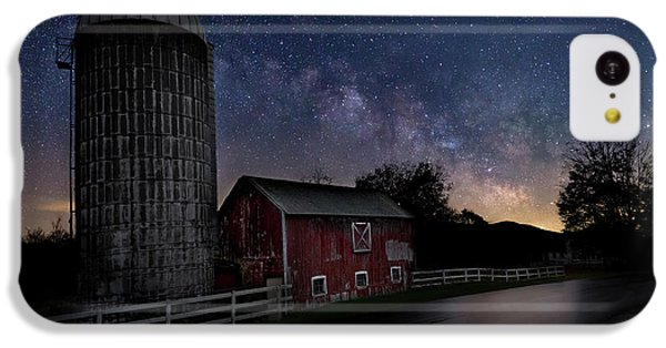 IPhone 5c Case featuring the photograph Celestial Farm by Bill Wakeley