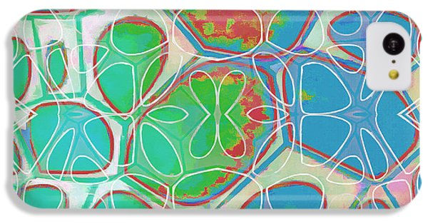 Detail iPhone 5c Case - Cell Abstract 10 by Edward Fielding