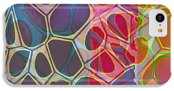 Cell Abstract 11 IPhone 5c Case by Edward Fielding