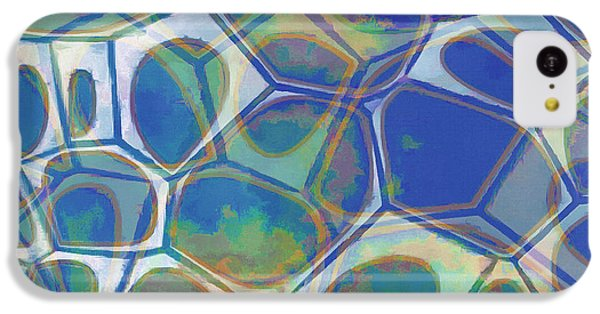 Cell Abstract 13 IPhone 5c Case by Edward Fielding