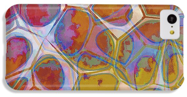 Cell Abstract 14 IPhone 5c Case by Edward Fielding