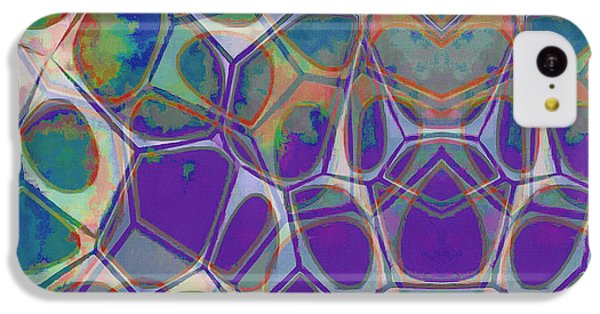 Cell Abstract 17 IPhone 5c Case by Edward Fielding