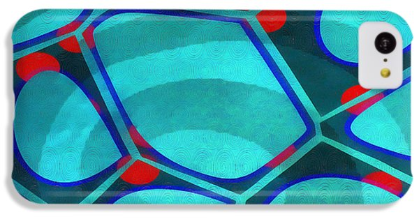 Detail iPhone 5c Case - Cell Abstract 6a by Edward Fielding