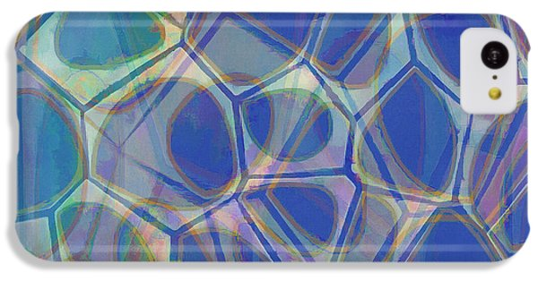 Cell Abstract One IPhone 5c Case by Edward Fielding