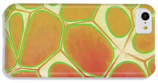 Detail iPhone 5c Case - Cells Abstract Five by Edward Fielding