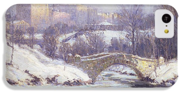 Central Park IPhone 5c Case by Colin Campbell Cooper