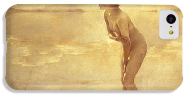 Nudes iPhone 5c Case - Chabas, September Morn by Paul Chabas
