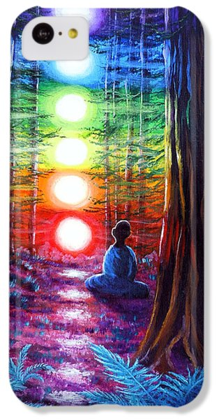 Chakra Meditation In The Redwoods IPhone 5c Case