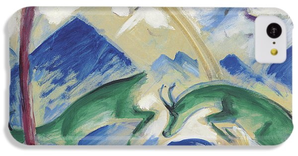 Chamois IPhone 5c Case by Franz Marc