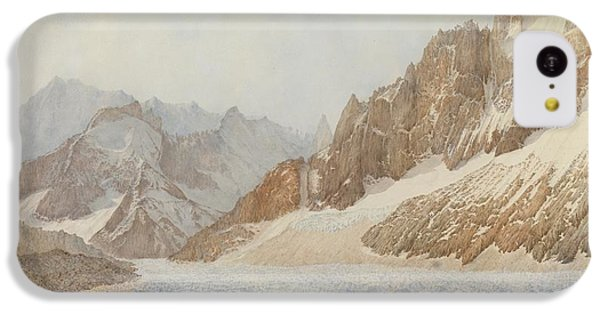 Mountain iPhone 5c Case - Chamonix by SIL Severn
