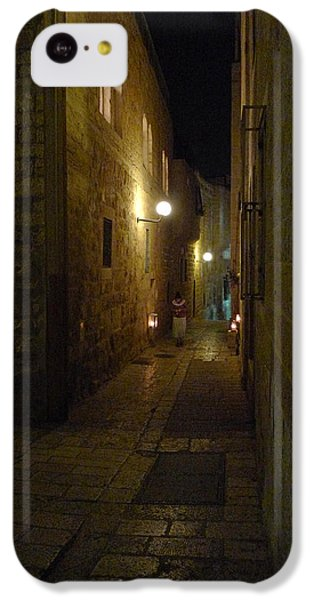 IPhone 5c Case featuring the photograph Chanukah At The Old City Of Jerusalem by Dubi Roman