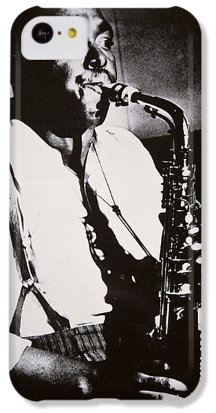 Saxophone iPhone 5c Case - Charlie Parker by American School