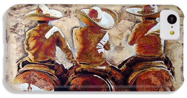 Horse iPhone 5c Case - 3 . C H A R R O  . F R I E N D S by J- J- Espinoza