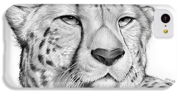Cheetah iPhone 5c Case - Cheetah by Greg Joens