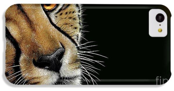 Cheetah iPhone 5c Case - Cheetah by Jurek Zamoyski