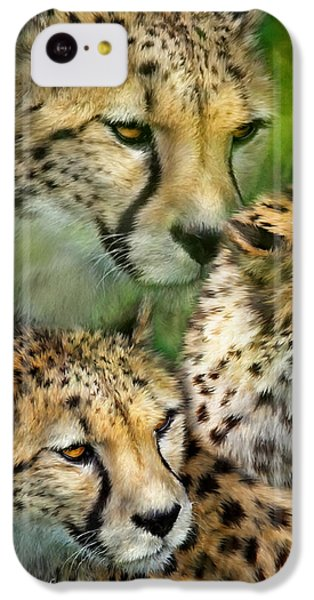 Cheetah Moods IPhone 5c Case