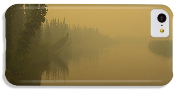 IPhone 5c Case featuring the photograph Chena River by Gary Lengyel