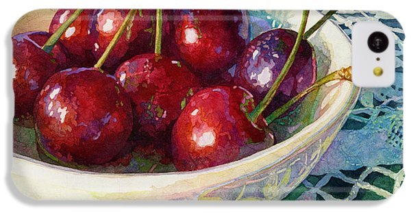 Fruit Bowl iPhone 5c Case - Cherries Jubilee by Hailey E Herrera