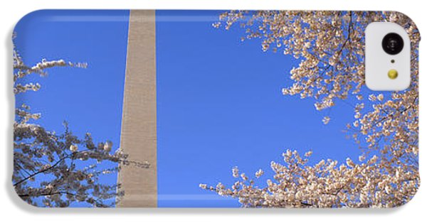 Cherry Blossoms And Washington IPhone 5c Case by Panoramic Images