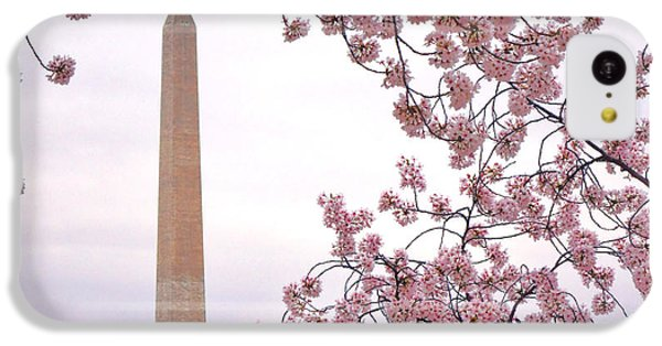 Cherry Washington IPhone 5c Case by Olivier Le Queinec